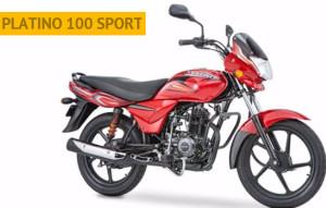 Boxer Platino 100 Sport Roja con Negro