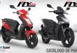 manual de partes moto Kymco Fly 125