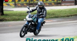 Caracteristicas de la moto Bajaj Discover 100