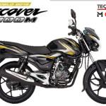 Moto Bajaj Discover 100 M - cilindraje