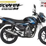 Moto Bajaj Discover 100 M - colores