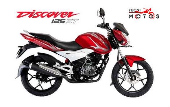 Moto bajaj discover 125 st
