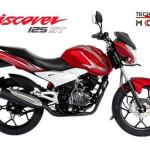 Moto Bajaj Discover 125 ST colores