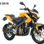 Moto Bajaj Pulsar 200 NS - Colores
