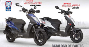 kymco agility naked versiones