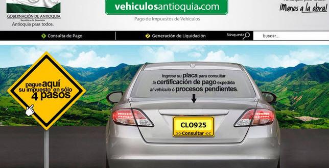 Liquide, pague y consulte impuestos de motos en Medellín
