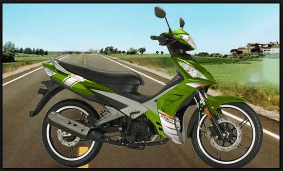 Motocicleta Kymco Jetix 125 Automática de Auteco