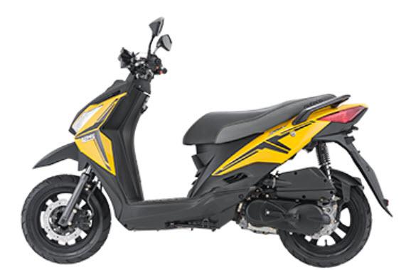 Ficha Tecnica de la motocicleta kymco Rocket Auteco