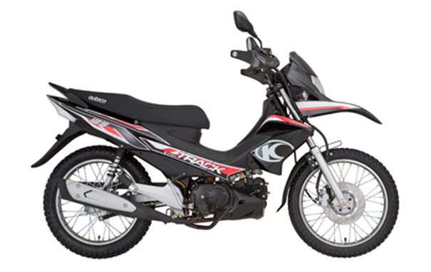 Manual de partes de la Motocicleta Kymco Jetix 125 Automática de Auteco