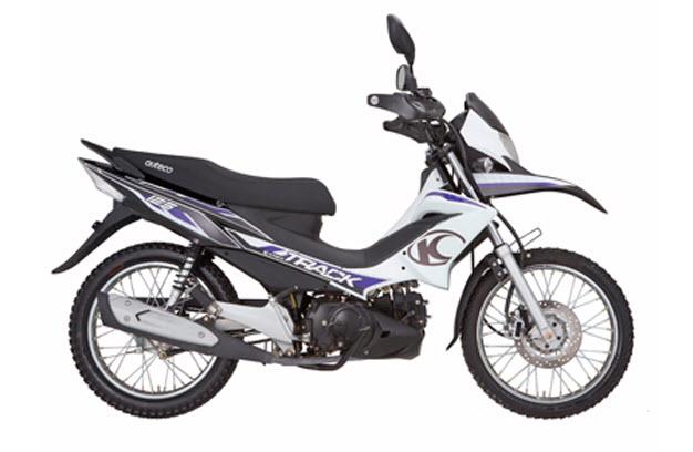 Imagenes de la motocicleta kymco track semiautomatica de auteco