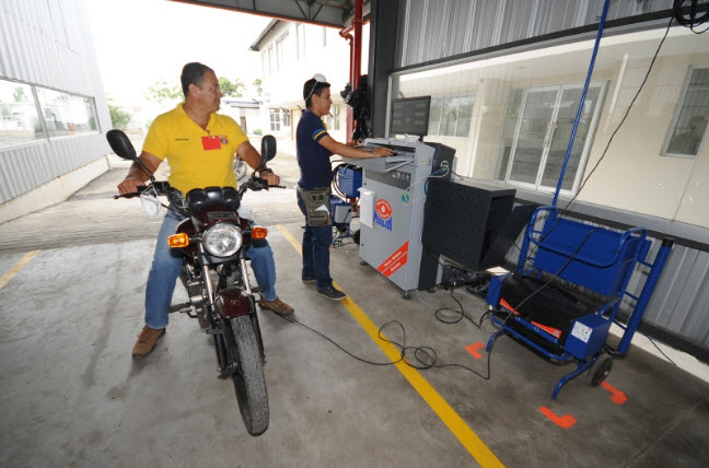 revisión técnica para motos nuevas 2015