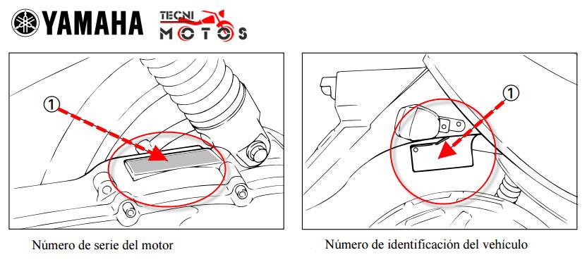 Donde ubico la identificacion para improntas de moto bws 100 de yamaha