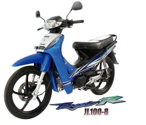Manual de despiece de la moto Jialing Target