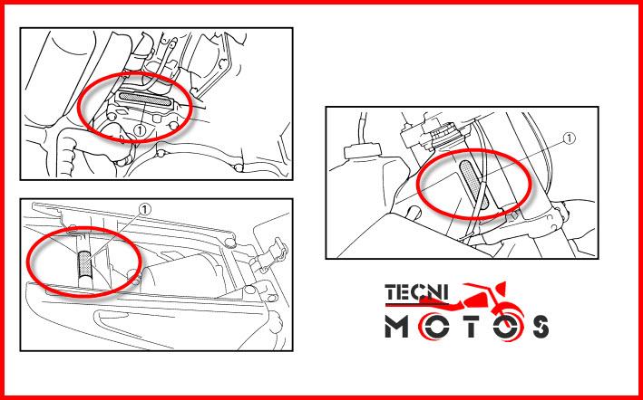Donde ubico las improntas motor y chasis de la moto Yamaha YZ-250 LC Modelo 2007
