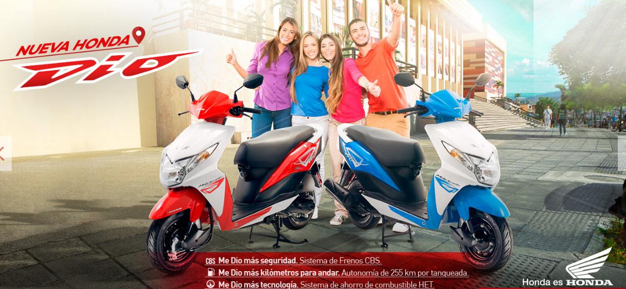colores moto honda dio 2016