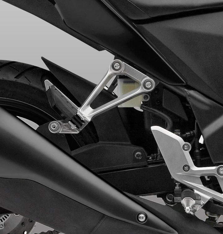 Ficha técnica CBR 250 cc std moto honda Bastidor