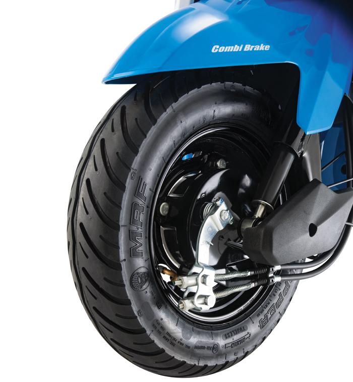 Ver imagen de los frenos combinados cbs moto honda dio 2016
