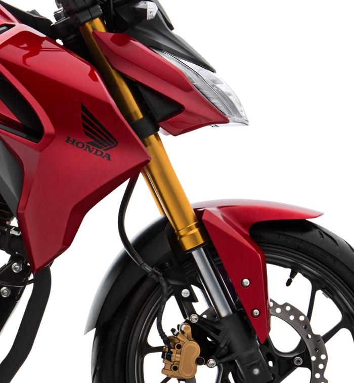 moto-honda-cb190r-especificaciones-suspencion-delantera-invertida