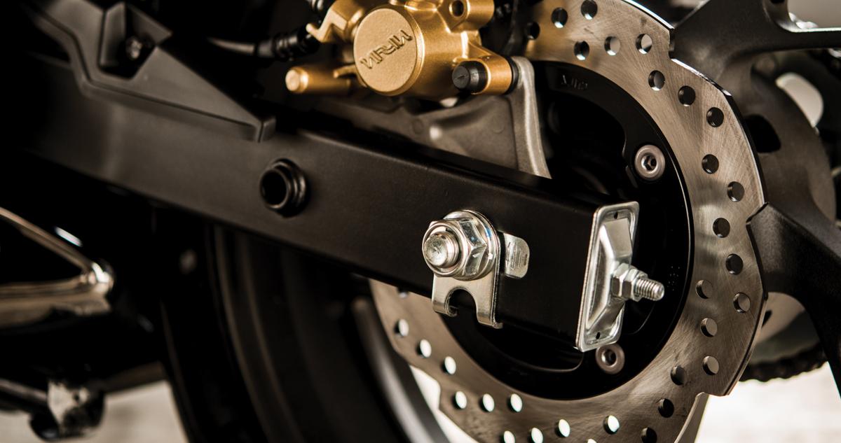 moto honda cb190r especificaciones - freno de disco