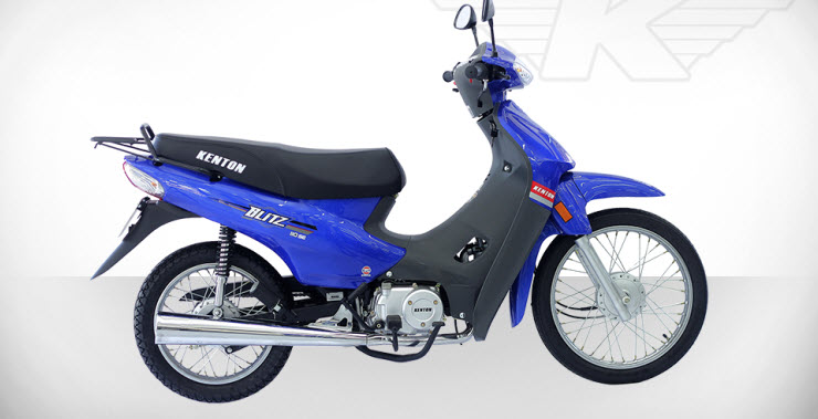 Imagen vista colores moto Kenton Blitz 110 SE