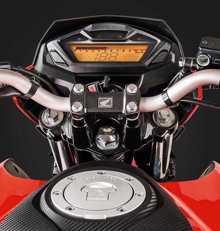 Diseño tablero de la moto honda cb 160f XDL