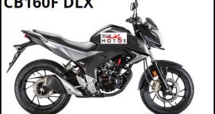 Ficha tecnica moto honda cb 160f DLX
