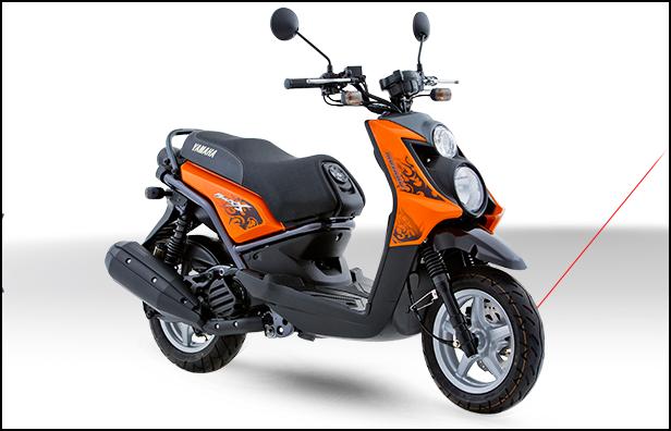 Ficha técnica moto Yamaha BWs X 2017