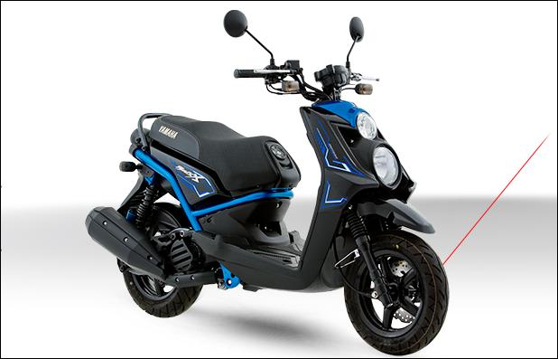 Ficha técnica moto Yamaha BWs 2017