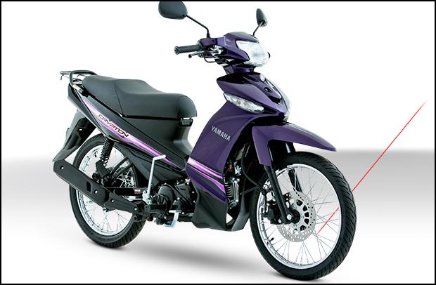 Ficha técnica moto Yamaha Crypton 2017