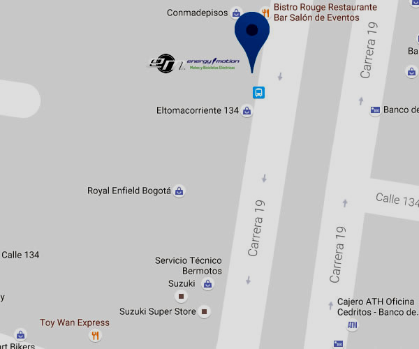Concesionarios de motos electricas en Bogota-cedritos