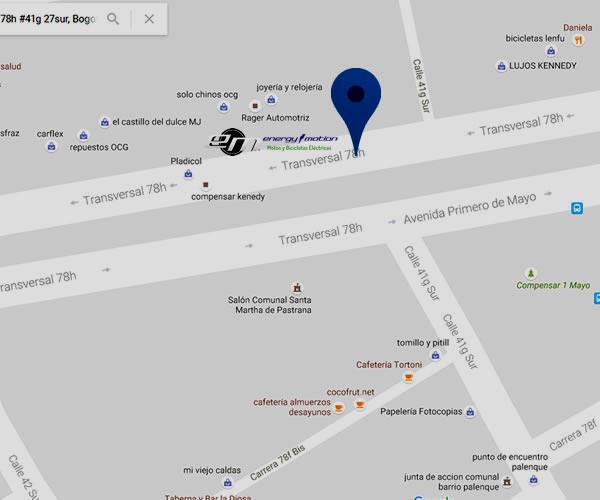 Concesionarios de motos electricas en Bogota Kenedy marca energy emotion