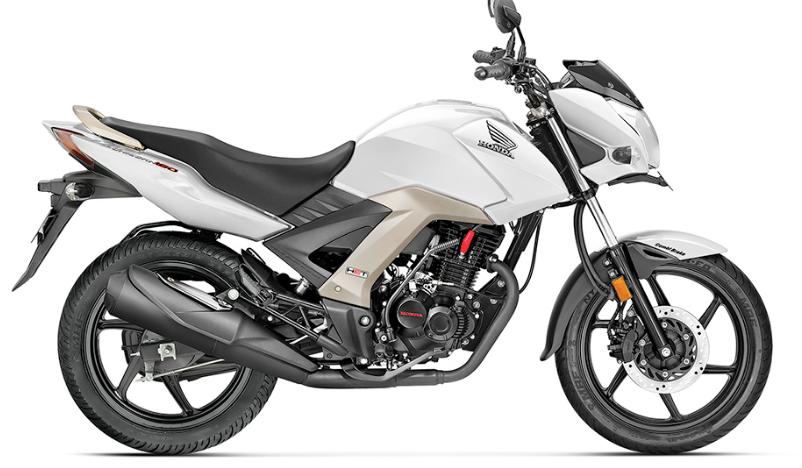 Moto Honda Unicorn 160 Color Blanco