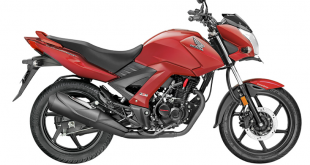 Moto Unicorn 160 color rojo