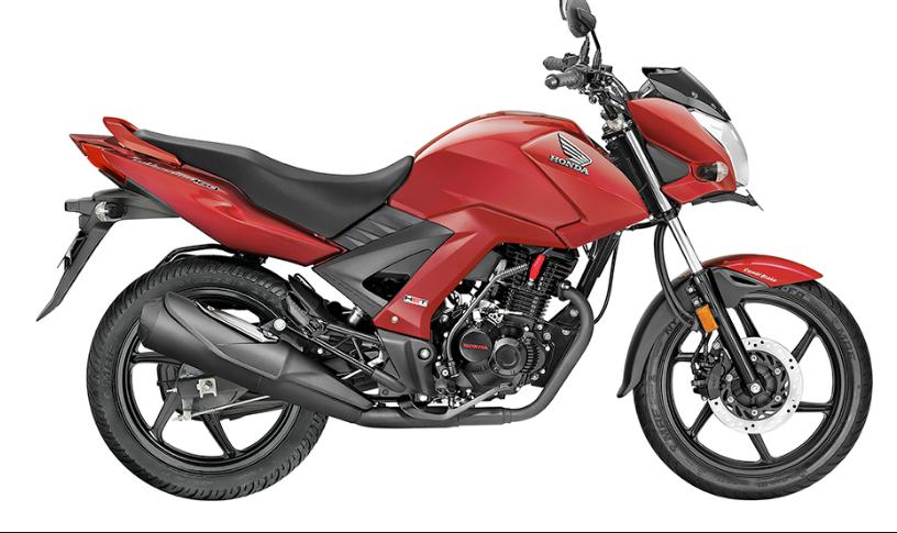 Moto Unicorn 160 color rojo
