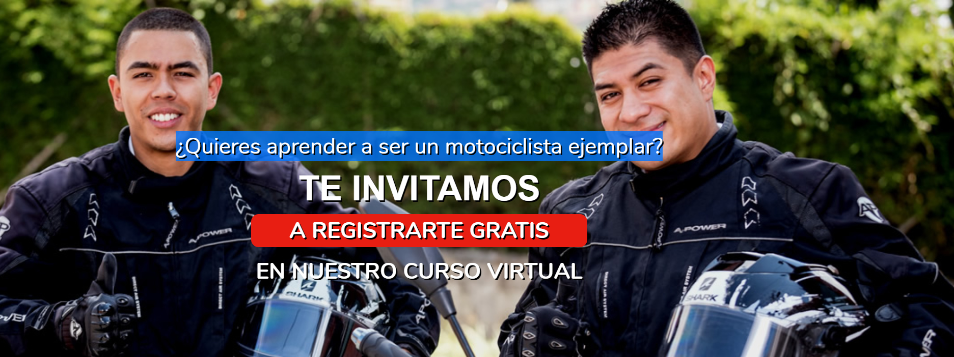 curso de conduccion de moto virtual de auteco