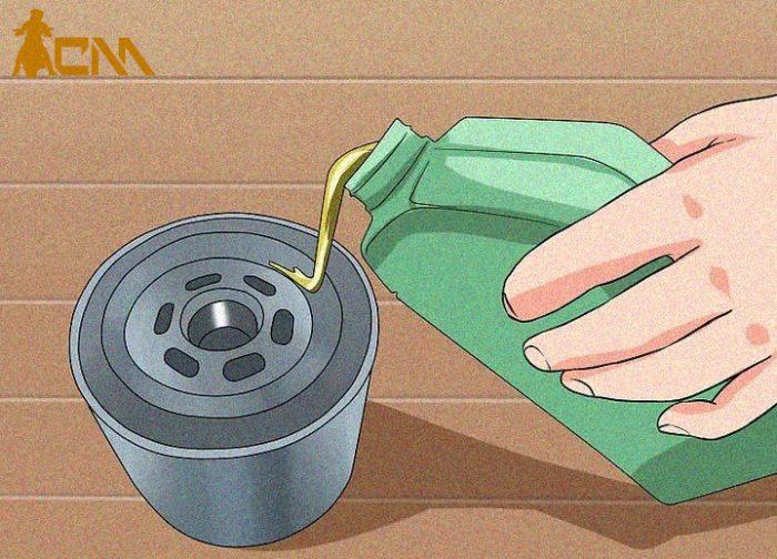 cambiar aceite a moto paso 6