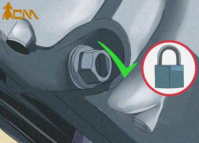 cambiar aceite a moto paso 9