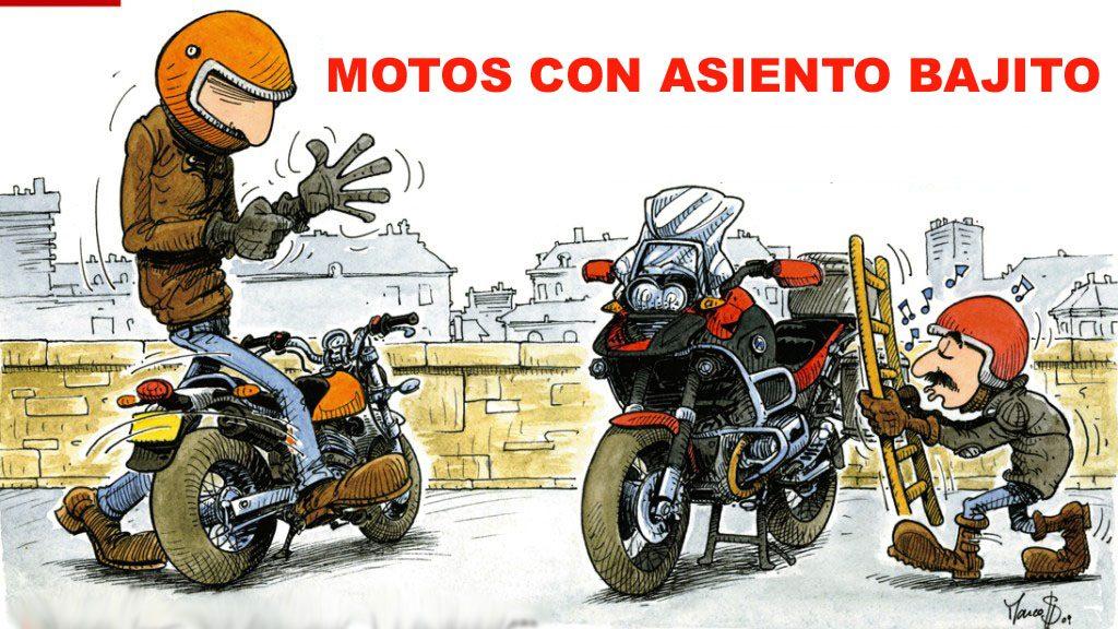 motos con asiento bajito