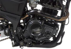 Motor moto akt ttr 200