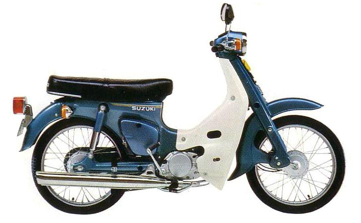 suzuki fr 80 azul 1978