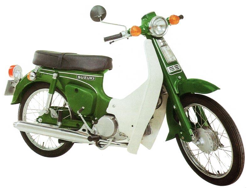 manual de usuario moto Suzuki FR 80