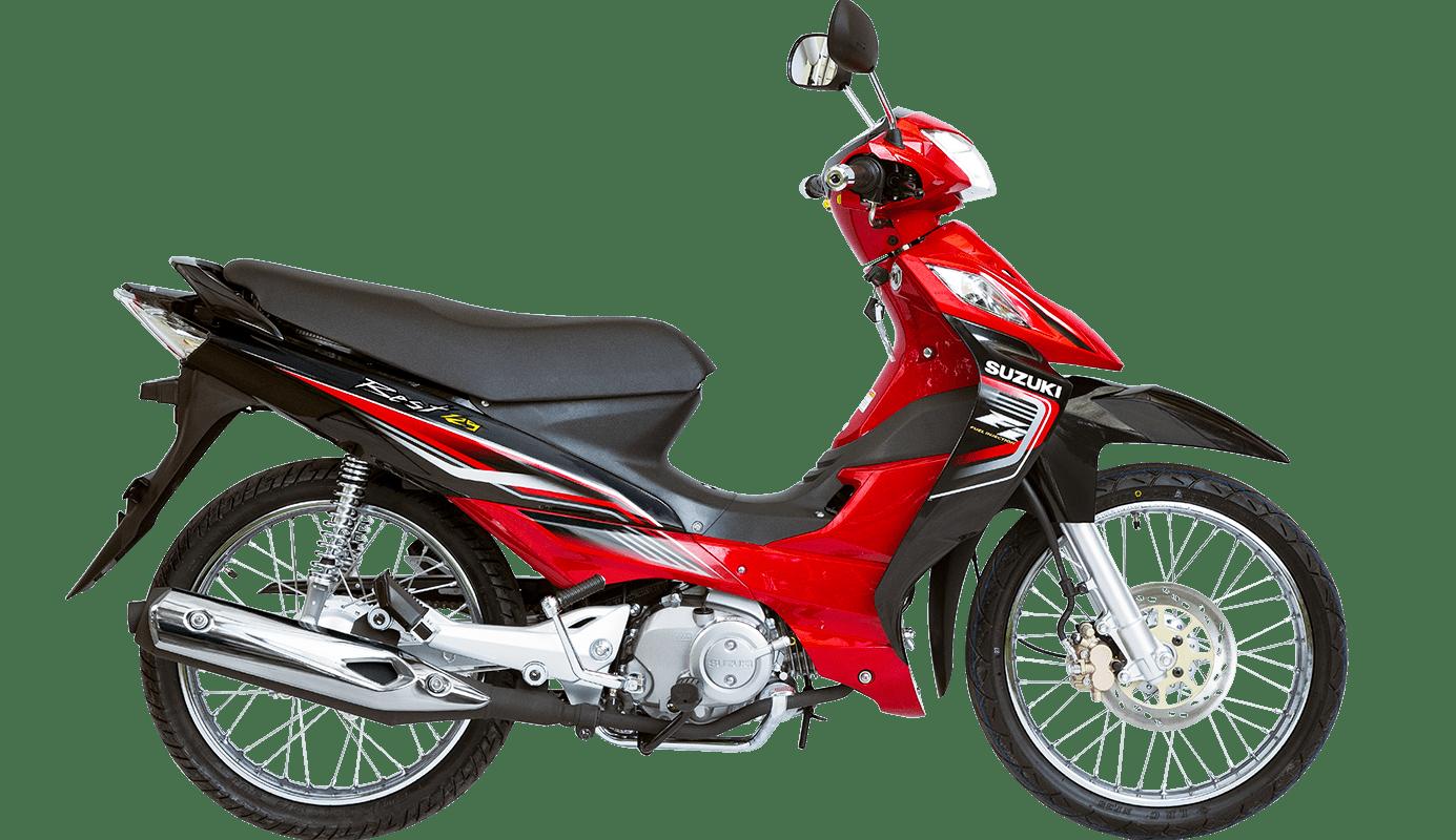 Color Roja Best 125 FI modelo 2022