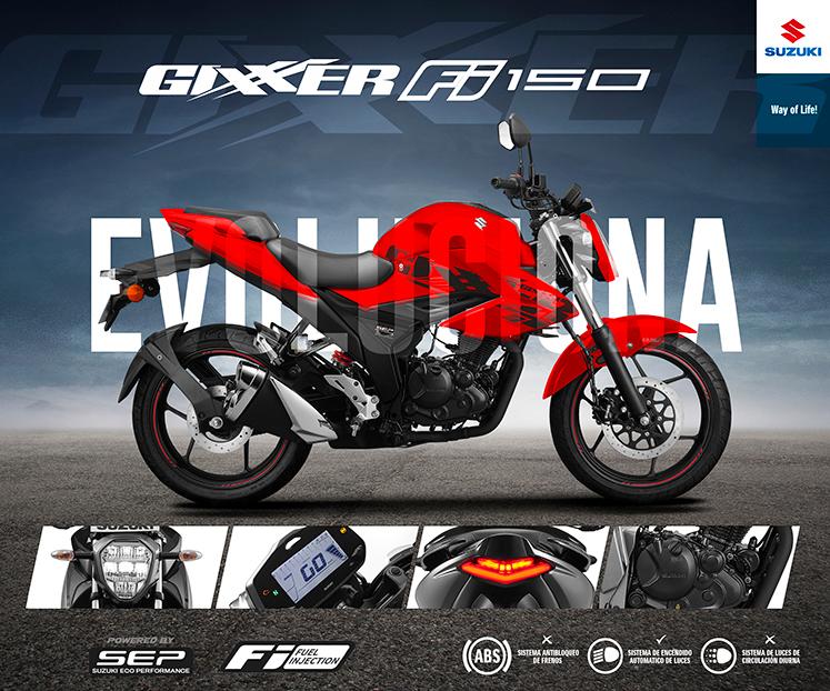 Moto Suzuki Gixxer FI