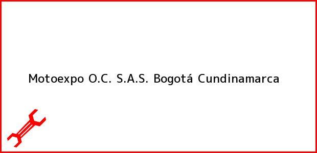 Teléfono, Dirección y otros datos de contacto para Motoexpo O.C. S.A.S., Bogotá, Cundinamarca, Colombia