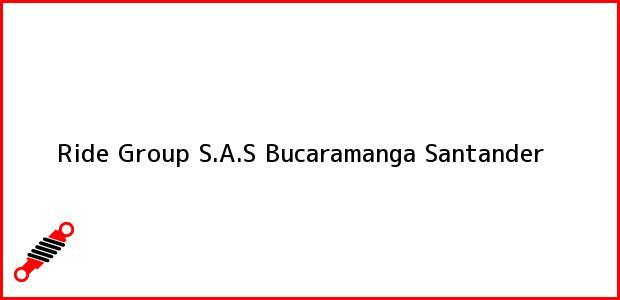 Teléfono, Dirección y otros datos de contacto para Ride Group S.A.S, Bucaramanga, Santander, Colombia