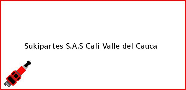 Teléfono, Dirección y otros datos de contacto para Sukipartes S.A.S, Cali, Valle del Cauca, Colombia