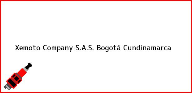 Teléfono, Dirección y otros datos de contacto para Xemoto Company S.A.S., Bogotá, Cundinamarca, Colombia