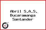 Abril S.A.S. Bucaramanga Santander