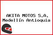 AKITA MOTOS S.A. Medellín Antioquia