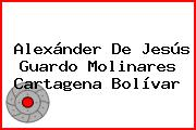 Alexánder De Jesús Guardo Molinares Cartagena Bolívar